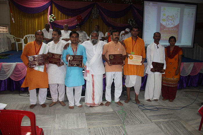Panchratna-2013 with Guruji.