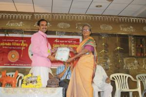 BSS Praman Patra to Manoj Sharma