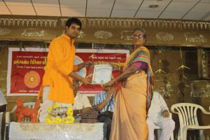 BSS Praman Patra to Nilesh Ojha