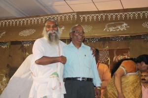 Guru ji with Pallawtimes CEO Mohanlal Bajaj